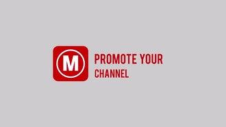 Live stream channel promo: Premiere Pro Templates