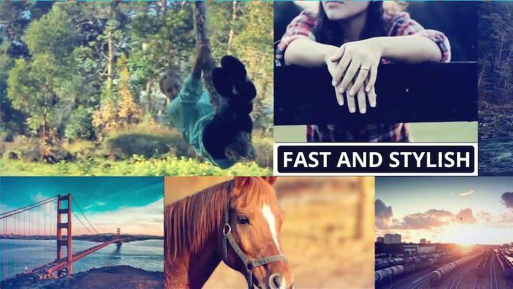 Multi Purpose Slideshow: After Effects Templates