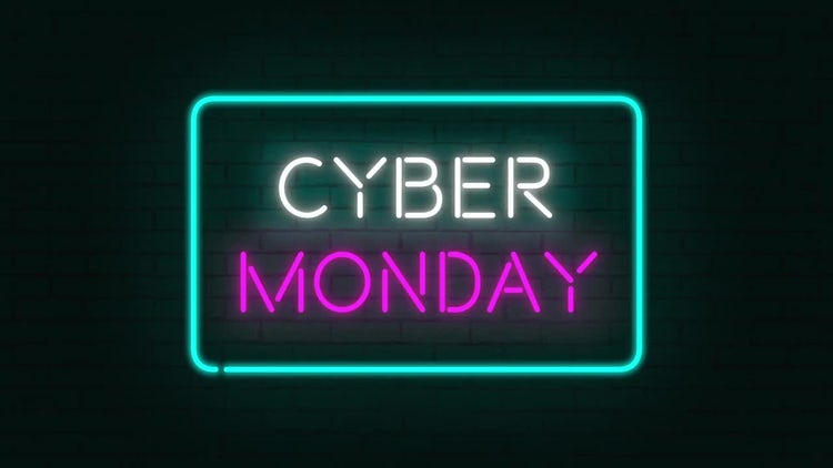 Black Friday Sale Neon Pack: Stock Motion Graphics