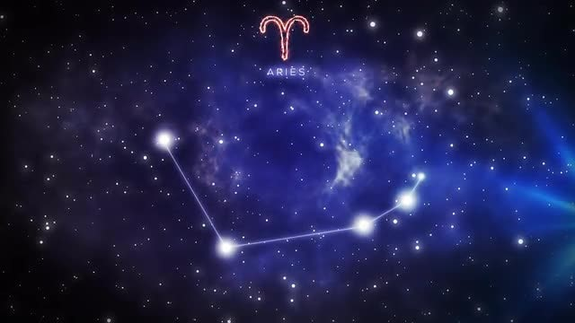 Constellation Of Aries: Stock Motion Graphics