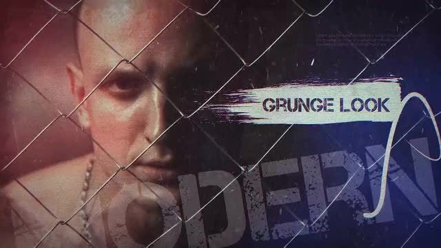 Stop Motion Grunge: After Effects Templates