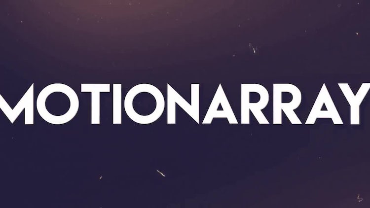 Typo: After Effects Templates