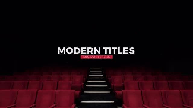 10 Modern Minimal Titles: Premiere Pro Templates