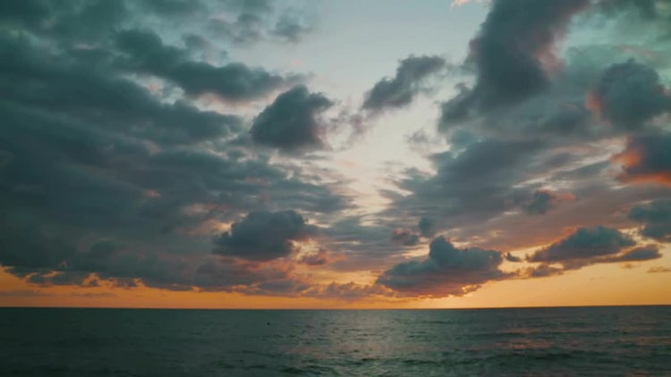 Seascape Time-Lapse: Stock Video
