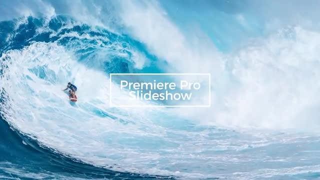 Dive - Photo Slideshow: Premiere Pro Templates