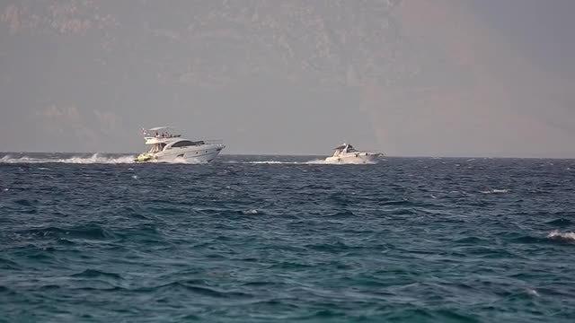 Ships At Sea: Stock Video