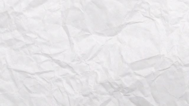 Crumpled Paper Texture: Stock Video
