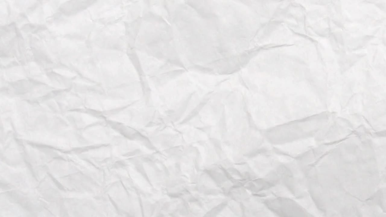 Crumpled Paper Texture Stock Video Motion Array