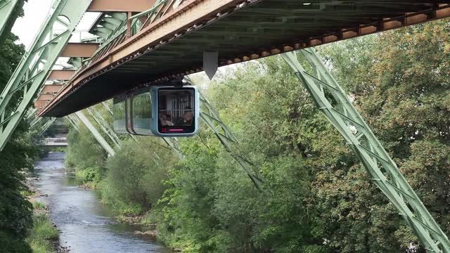 Suspended Train: Stock Video