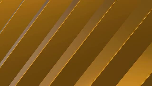 Gold Blocks Animation: Stock Motion Graphics