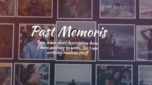 Past Memories: Final Cut Pro Templates