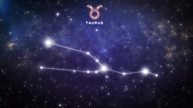 Constellation Of Taurus: Stock Motion Graphics
