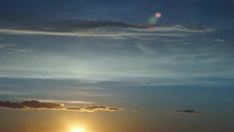 Sunset Sky: Stock Video