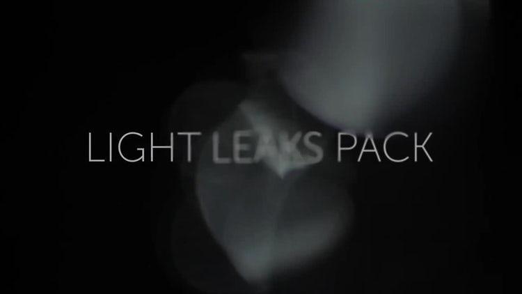 Light Leaks Pack 02: Stock Video