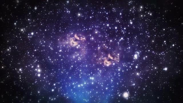 Twinkling Stars: Stock Motion Graphics