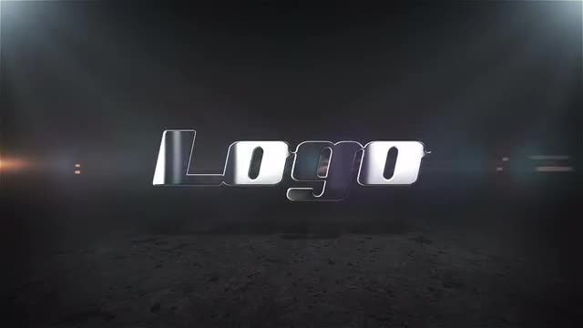 Elegant Metal Logo: After Effects Templates