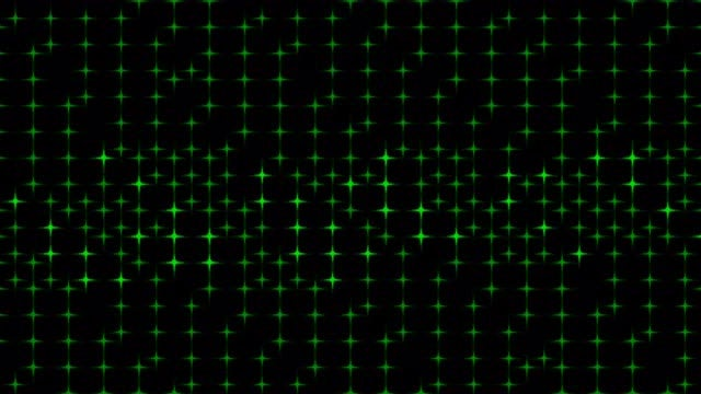 Green Stars: Stock Motion Graphics