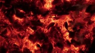 Burning Coal: Stock Video