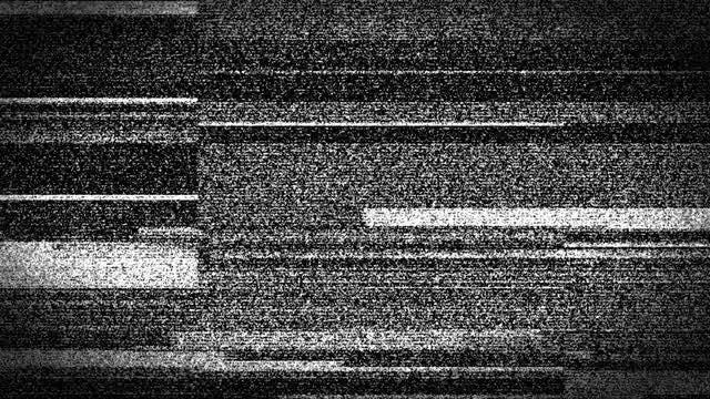 Bad TV Distortion Glitch: Stock Motion Graphics