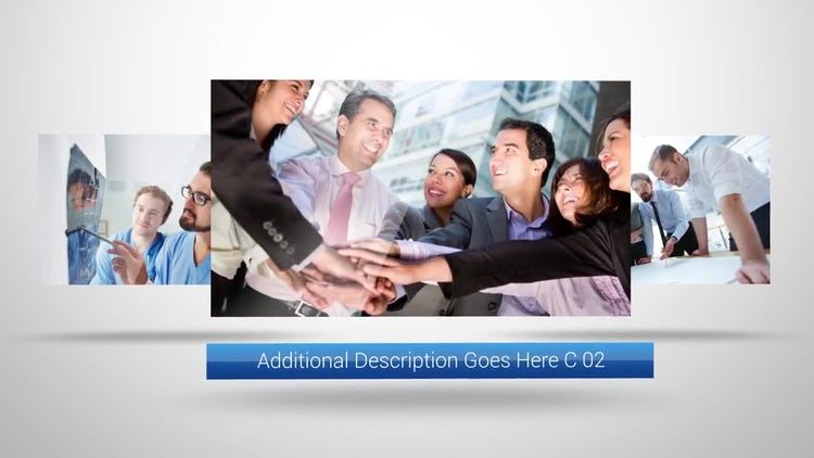 Simple Corporate Display: After Effects Templates