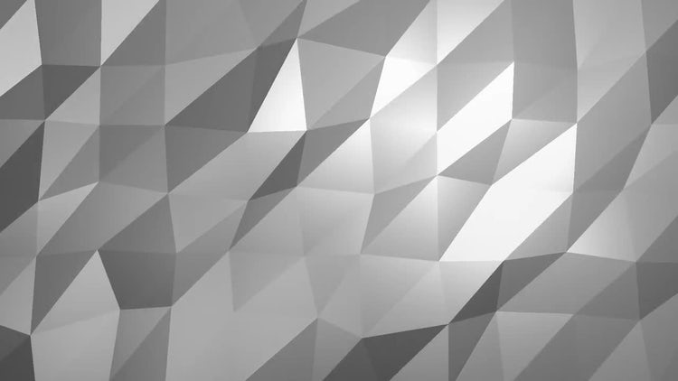 12 Low Poly Backgrounds: Motion Graphics