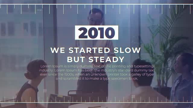 Decades Of Success: After Effects Templates