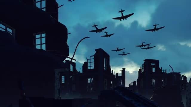 World War Two: Stock Motion Graphics