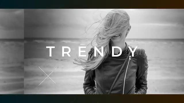 Black Fashion Opener // Urban Glitch: After Effects Templates