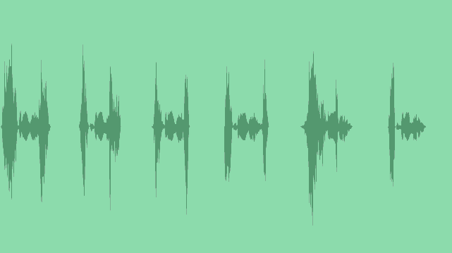 Fast Digital Transitions And Movements: Sound Effects
