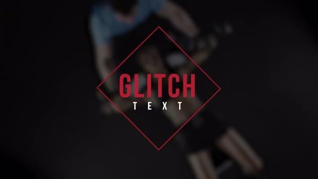 Glitch Text 3: Premiere Pro Presets