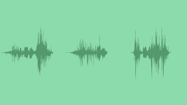 Minimalistic Flying Transitions: Sound Effects
