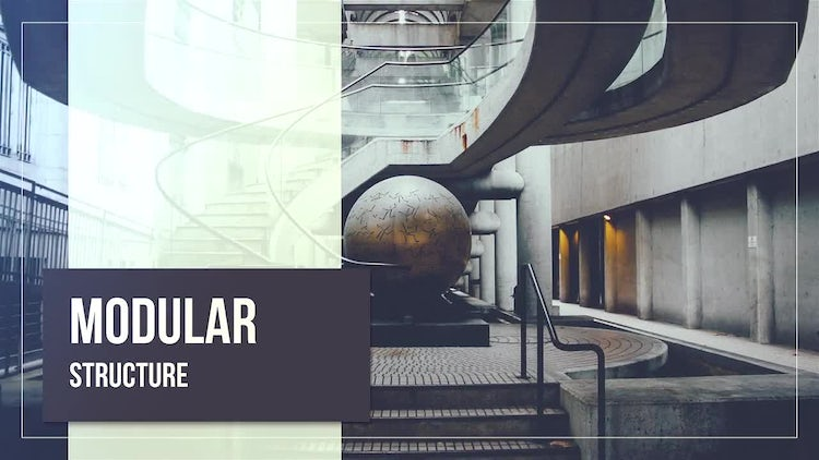 Simple Abstract Slideshow: After Effects Templates