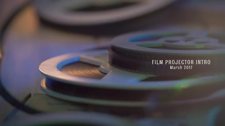 Film Projector Intro: After Effects Templates