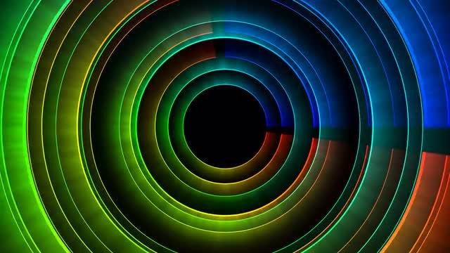 Circles: Stock Motion Graphics