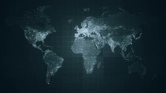 Pack of Global World Maps: Motion Graphics