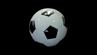 Realistic Soccer Ball: Motion Graphics