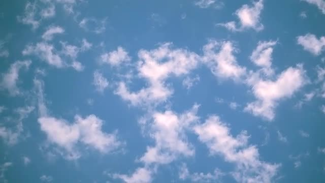 Traveling Clouds: Stock Video