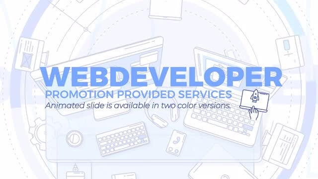 Web Developer Promo: After Effects Templates