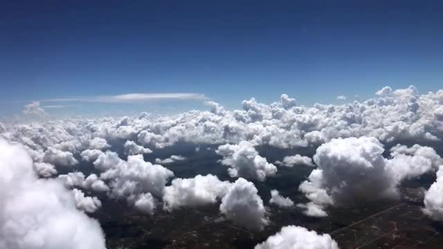 Above The Clouds: Stock Video