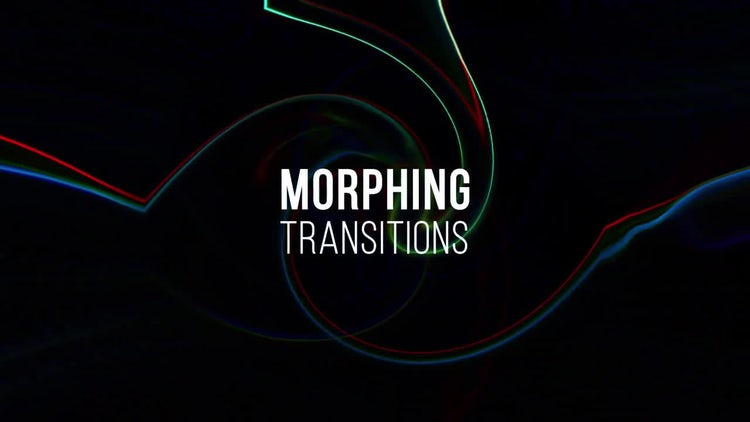 Morphing Transitions: Premiere Pro Templates