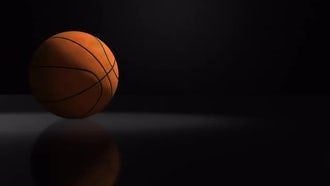 Basketball Background: Motion Graphics