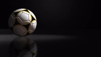 Soccer Ball Background: Motion Graphics