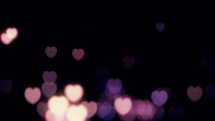 Pink Hearts: Stock Motion Graphics