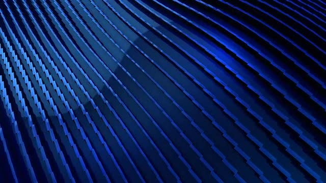 Waving Striped Lines: Stock Motion Graphics