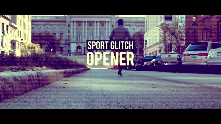 Sport Glitch Opener: Premiere Pro Templates