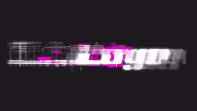 Glitch Logo Reveal: Premiere Pro Templates
