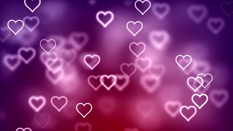 7 Backgrounds With Hearts: Motion Graphics