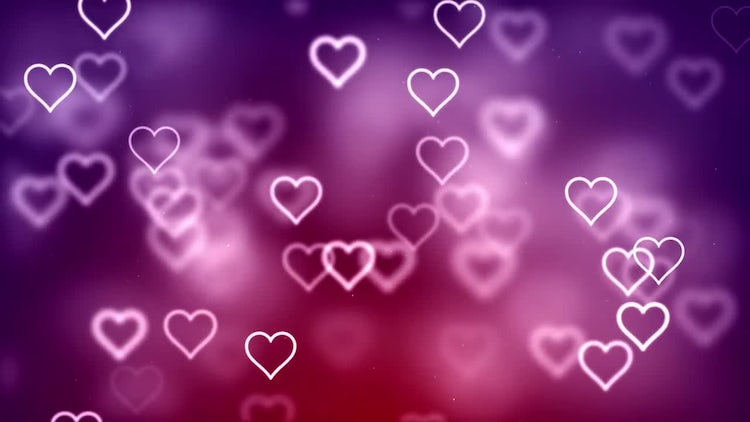 7 Backgrounds With Hearts: Stock Motion Graphics