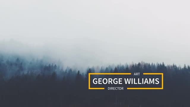Minimal Lowerthirds: After Effects Templates