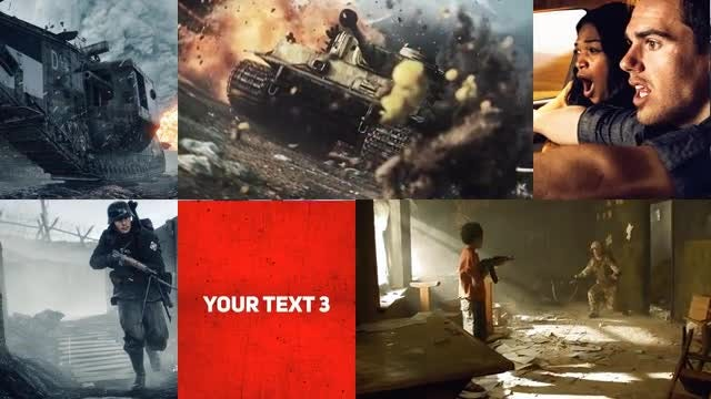 Clean Looping Trailer: After Effects Templates